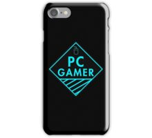 Pc Gaming (Blue) iPhone Case/Skin