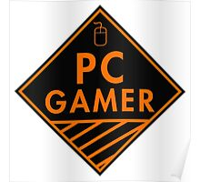 Pc Gaming (Orange) Poster