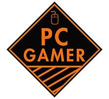 Pc Gaming (Orange) Photographic Print