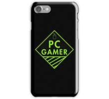 Pc Gaming (Green) iPhone Case/Skin