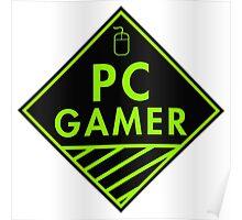 Pc Gaming (Green) Poster