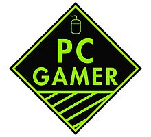 Pc Gaming (Green) Photographic Print