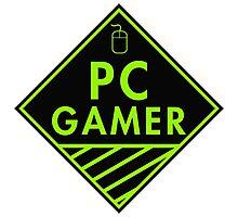 Pc Gaming (Green) Photographic Print