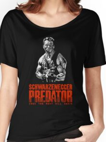 PREDATOR - NES CLASSIC GAME INTRO Women's Relaxed Fit T-Shirt
