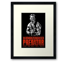 PREDATOR - NES CLASSIC GAME INTRO Framed Print