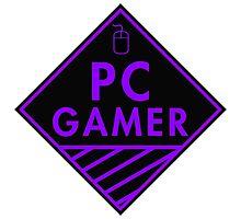 Pc Gaming (purple) Photographic Print