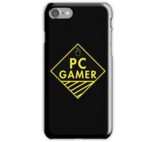 Pc Gaming (yellow) iPhone Case/Skin
