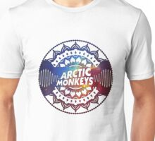 ARCTIC MONKEYS - MANDALA & GALAXY DESIGN Unisex T-Shirt