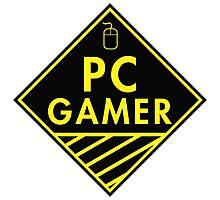 Pc Gaming (yellow) Photographic Print