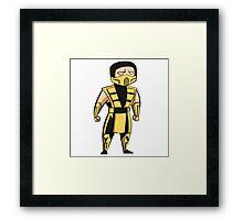 Scorpion (UMK3/MKT) Framed Print