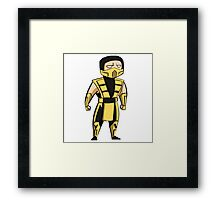 Scorpion (UMK3/MKT) Framed Print