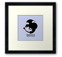 Toothless / Game of Thrones Framed Print