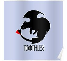 Toothless / Game of Thrones Poster