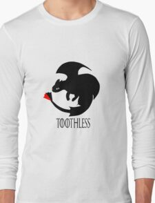 Toothless / Game of Thrones Long Sleeve T-Shirt