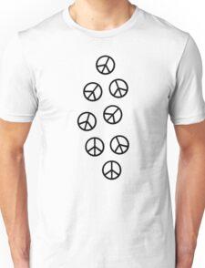 Peace symbols Unisex T-Shirt