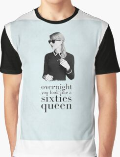 Taylor Swift- Sixties Queen Graphic T-Shirt