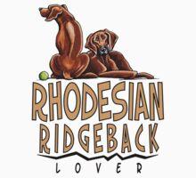 Rhodesian Ridgeback Lover Kids Clothes
