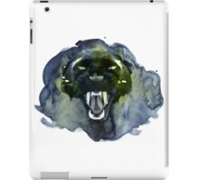 Watercolor Panther iPad Case/Skin