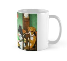 Dogs Playing Poker Cards  Mug