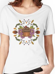 Autumnal Tea Party Women's Relaxed Fit T-Shirt
