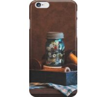 Bobbins and Buttons iPhone Case/Skin
