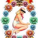 Flower Pin-Up *CENSORED* by MonsieurM
