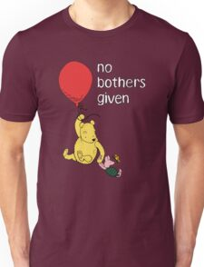 Winnie the Pooh + Piglet - No Bothers Given Unisex T-Shirt