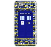 Tardis Yellow Line iPhone Case/Skin