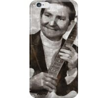 Willie Nelson Country Singer iPhone Case/Skin