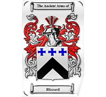 Blizzard Coat of Arms Poster