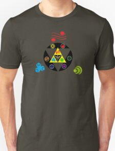 Zelda Triforce green Unisex T-Shirt