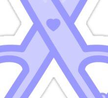 Cute scissors Sticker