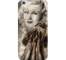 Ginger Rogers Hollywood Actress & Dancer iPhone Case/Skin