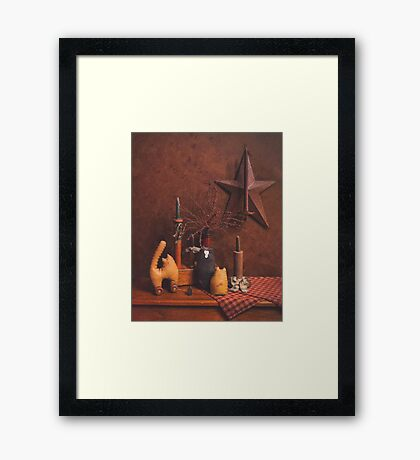 Toy Cats Framed Print
