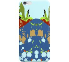 Low lying mountain ranges 4 iPhone Case/Skin