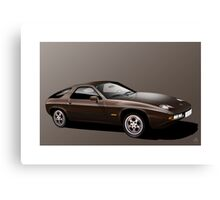 Poster artwork - Porsche 928  Canvas Print