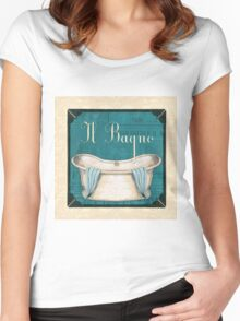 Italianate Tub 1 Women's Fitted Scoop T-Shirt