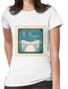 Italianate Tub 1 Womens Fitted T-Shirt