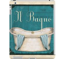 Italianate Tub 1 iPad Case/Skin