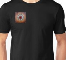 Luther's Rose - natural wood Unisex T-Shirt