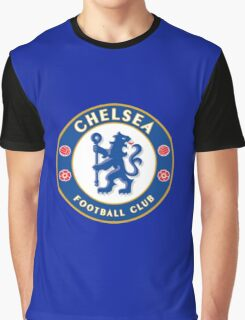 The Blues,Chelsea FC Graphic T-Shirt