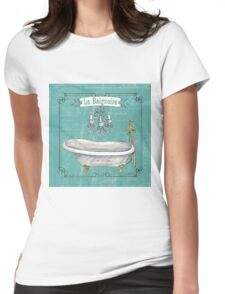 La Toilette Spa 1 Womens Fitted T-Shirt