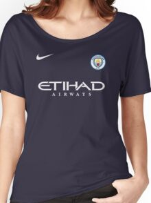 Manchester City Fc Women's Relaxed Fit T-Shirt
