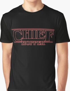 Chief Hopper Best Chief Graphic T-Shirt