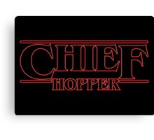 Chief Hopper Best Chief Canvas Print
