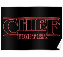 Chief Hopper Best Chief Poster