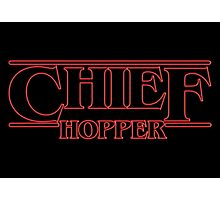 Chief Hopper Best Chief Photographic Print