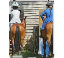 Two Fine Asses iPad Case/Skin
