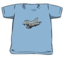 Cartoon Fighter Plane Kids Tee
