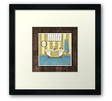 Monique Bath 1 Framed Print